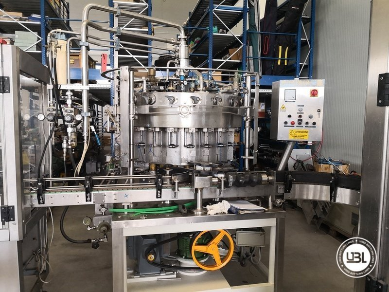 Used Isobaric Complete Glass Line for Sparkling Wine, Spumante, Still Wine 2500 bph - 15