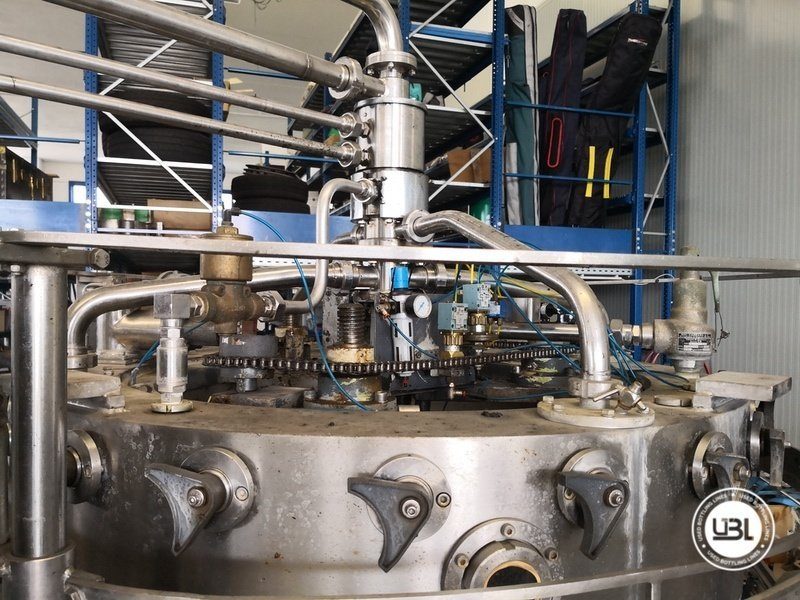 Used Isobaric Complete Glass Line for Sparkling Wine, Spumante, Still Wine 2500 bph - 19