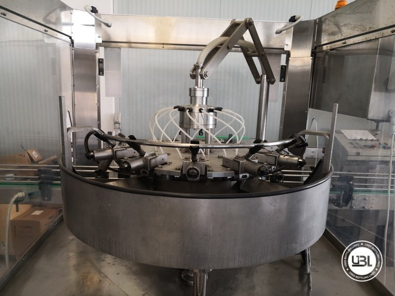 Used Isobaric Complete Glass Line for Sparkling Wine, Spumante, Still Wine 2500 bph - 20