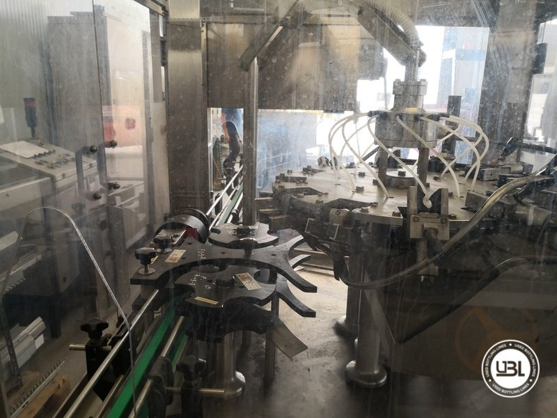 Used Isobaric Complete Glass Line for Sparkling Wine, Spumante, Still Wine 2500 bph - 21