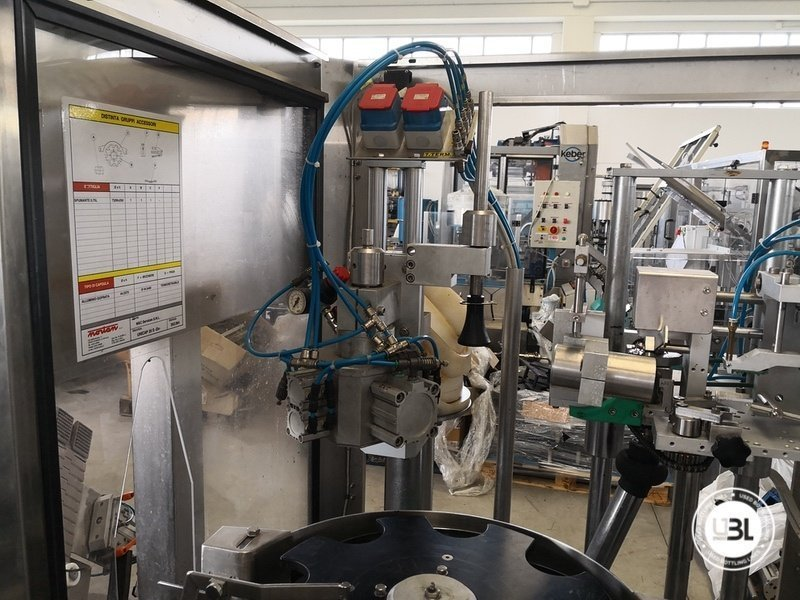 Used Isobaric Complete Glass Line for Sparkling Wine, Spumante, Still Wine 2500 bph - 26