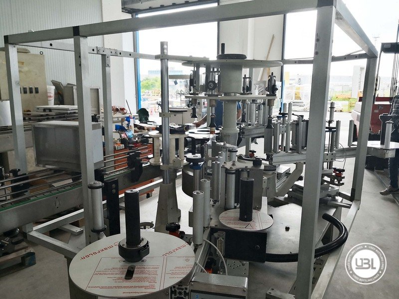 Used Isobaric Complete Glass Line for Sparkling Wine, Spumante, Still Wine 2500 bph - 3