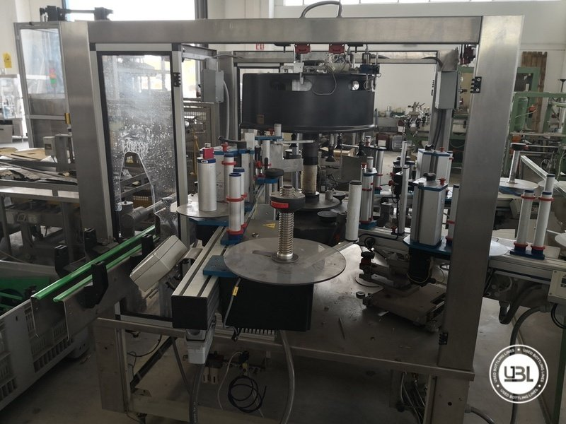 Used Isobaric Complete Glass Line for Sparkling Wine, Spumante, Still Wine 2500 bph - 32