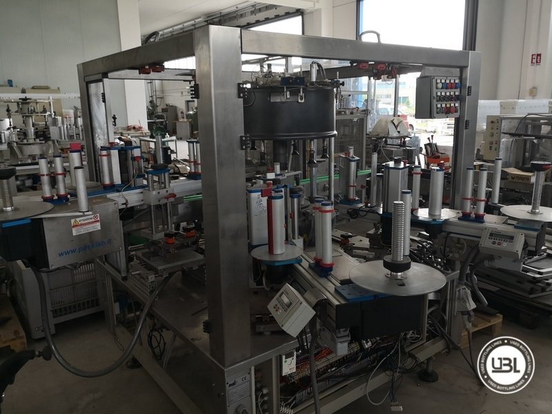 Used Isobaric Complete Glass Line for Sparkling Wine, Spumante, Still Wine 2500 bph - 33