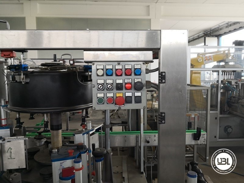 Used Isobaric Complete Glass Line for Sparkling Wine, Spumante, Still Wine 2500 bph - 34