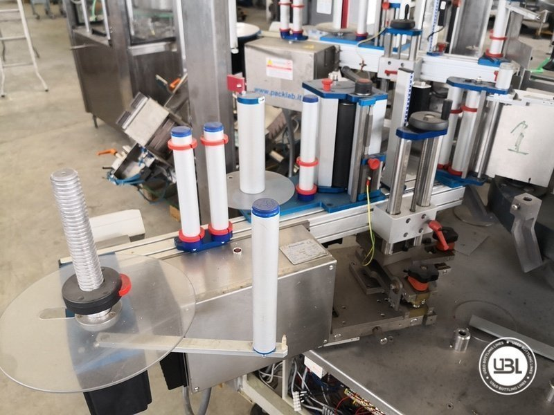 Used Isobaric Complete Glass Line for Sparkling Wine, Spumante, Still Wine 2500 bph - 40