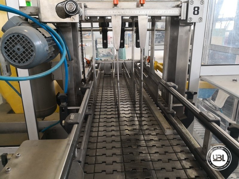 Used Isobaric Complete Glass Line for Sparkling Wine, Spumante, Still Wine 2500 bph - 43