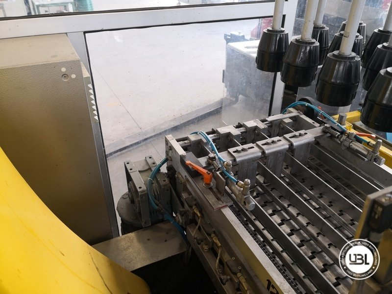 Used Isobaric Complete Glass Line for Sparkling Wine, Spumante, Still Wine 2500 bph - 45