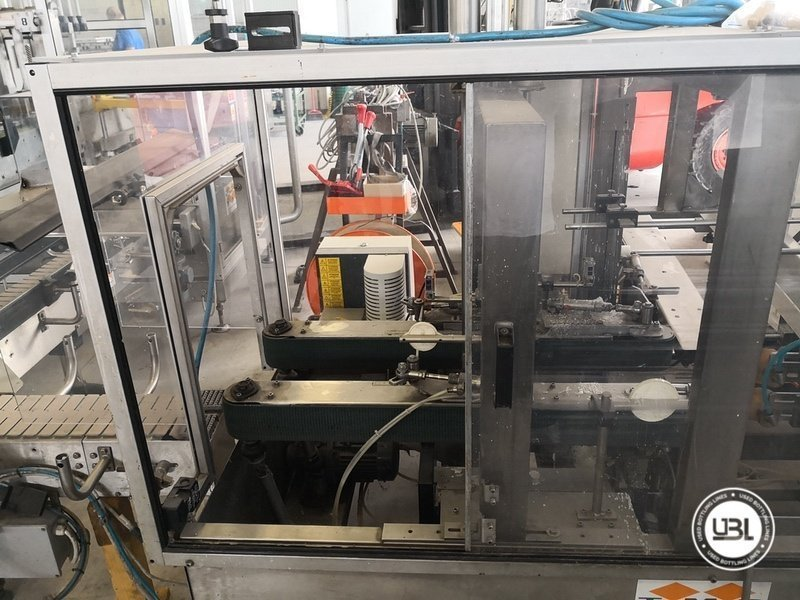 Used Isobaric Complete Glass Line for Sparkling Wine, Spumante, Still Wine 2500 bph - 46