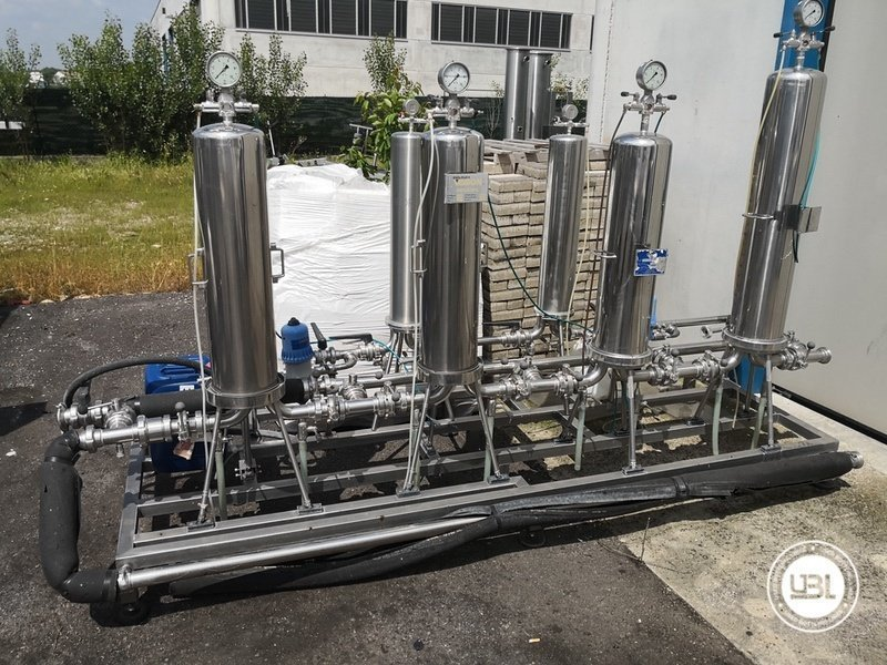 Used Isobaric Complete Glass Line for Sparkling Wine, Spumante, Still Wine 2500 bph - 63