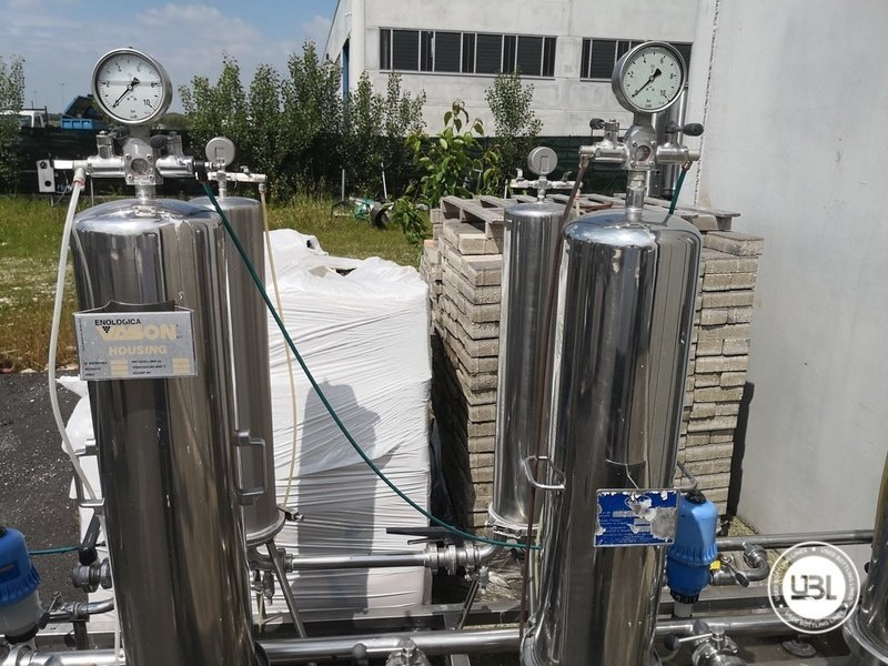 Used Isobaric Complete Glass Line for Sparkling Wine, Spumante, Still Wine 2500 bph - 65