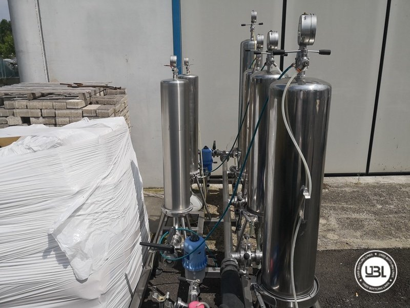 Used Isobaric Complete Glass Line for Sparkling Wine, Spumante, Still Wine 2500 bph - 68