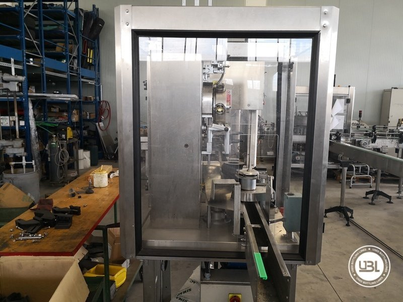 Used Isobaric Complete Glass Line for Sparkling Wine, Spumante, Still Wine 2500 bph - 8