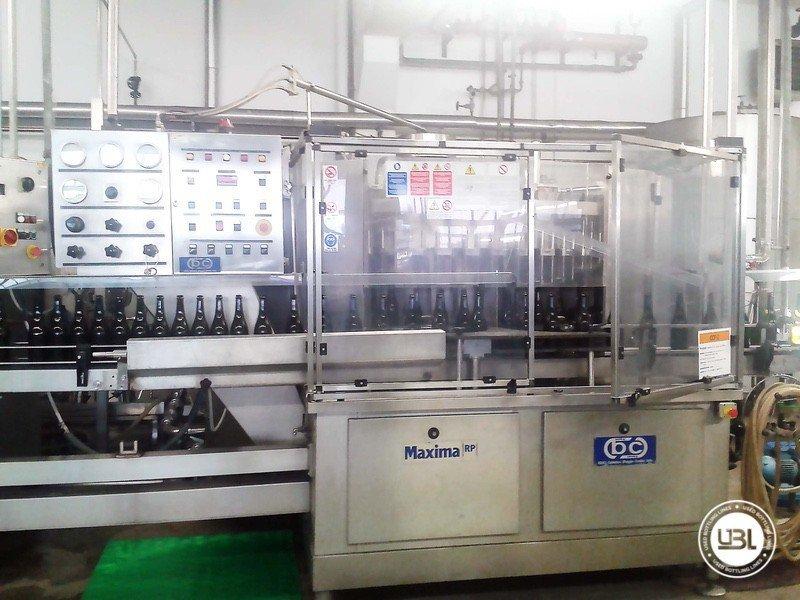 Used Volumetric Filling Machine BC RP60 6500 bph - 1