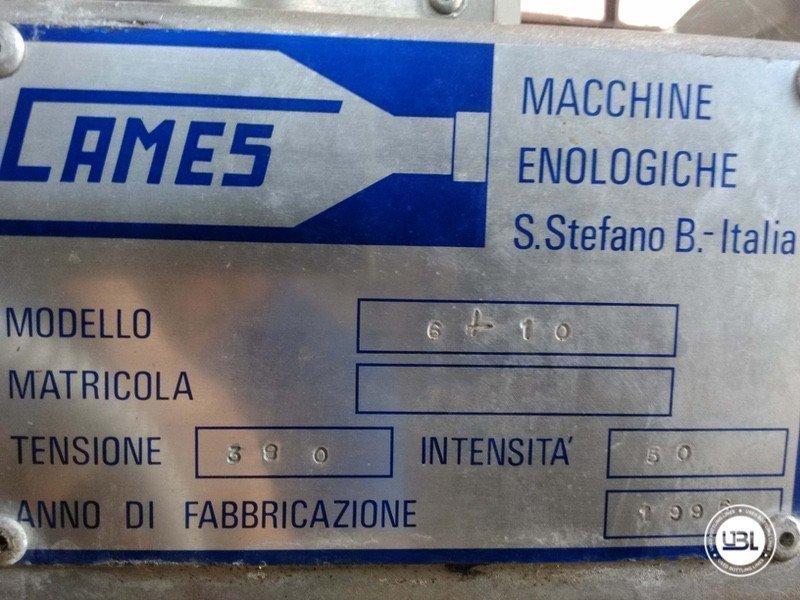 Lavasciuga Bottiglie usata Cames 6-10 3500 Bph - 2