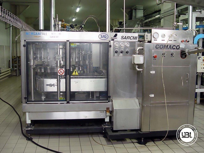 Used Complete Can Line for Beer 9000 cph - 4