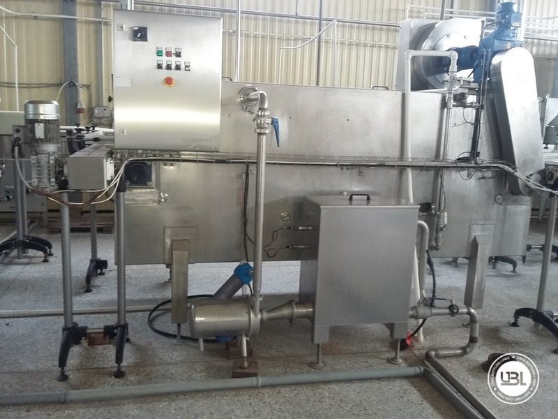 Used Complete Can Line for Soft Drinks 12000 bph - 25