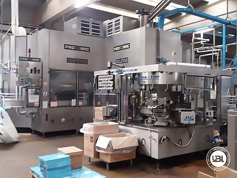 Used Complete PET Line for Water 20200 bph - 13