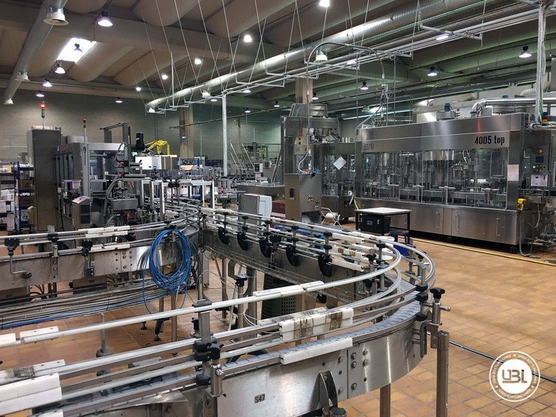 Used Complete Glass Line for Still Wine 4500 bph - 10