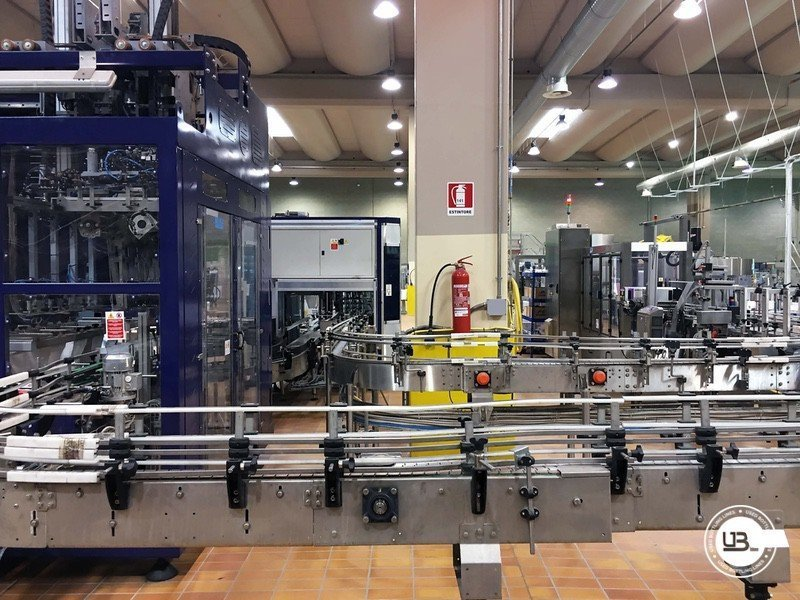 Used Complete Glass Line for Still Wine 4500 bph - 11