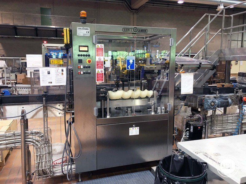 Used Complete Glass Line for Still Wine 4500 bph - 12