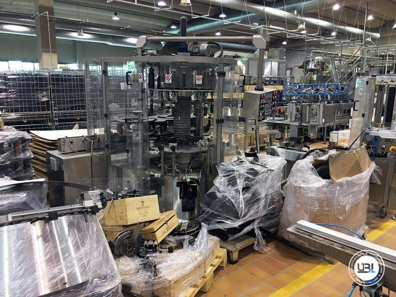 Used Complete Glass Line for Still Wine 4500 bph - 15