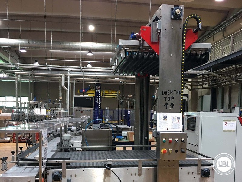 Used Complete Glass Line for Still Wine 4500 bph - 2