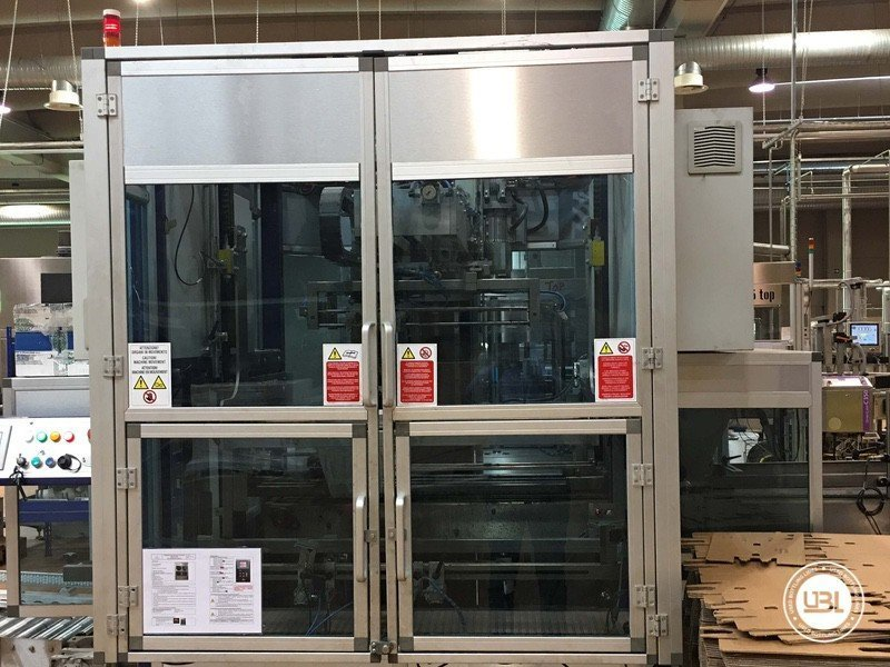 Used Complete Glass Line for Still Wine 4500 bph - 22