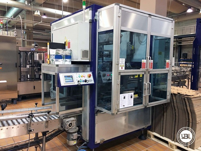 Used Complete Glass Line for Still Wine 4500 bph - 23