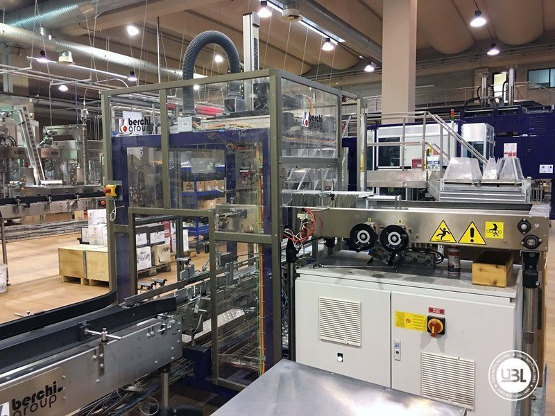 Used Complete Glass Line for Still Wine 4500 bph - 24