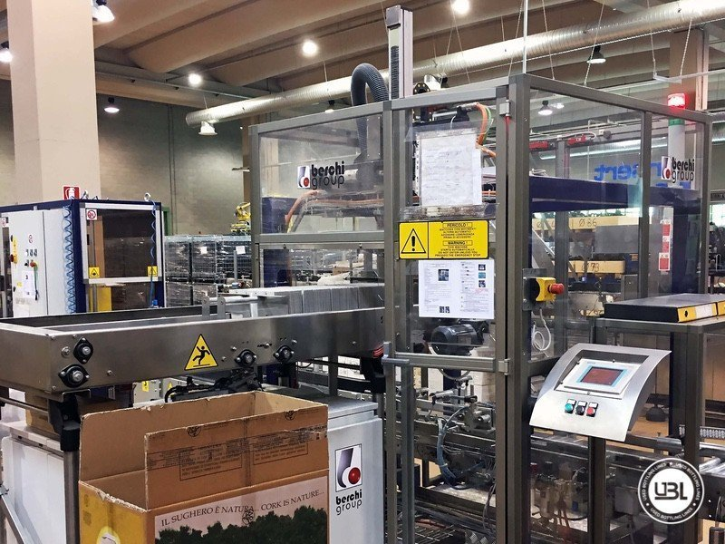 Used Complete Glass Line for Still Wine 4500 bph - 25