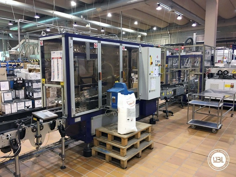Used Complete Glass Line for Still Wine 4500 bph - 26