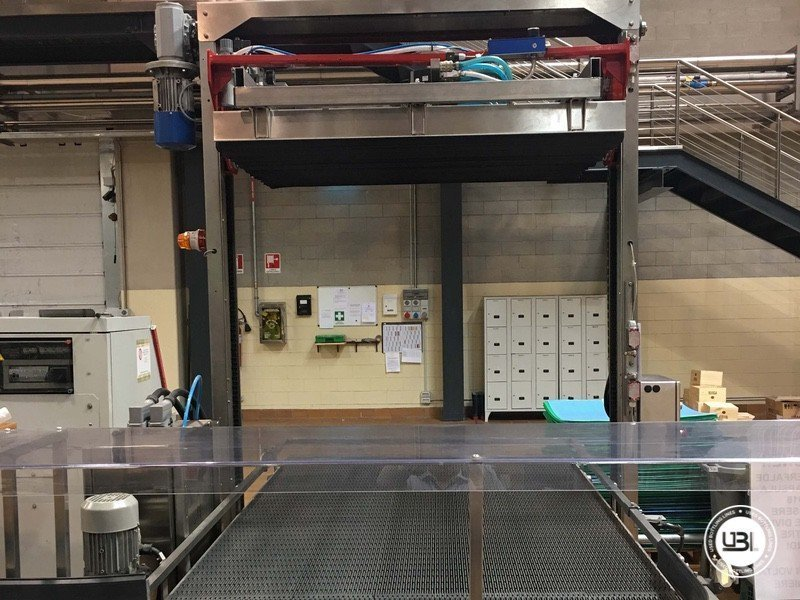 Used Complete Glass Line for Still Wine 4500 bph - 3