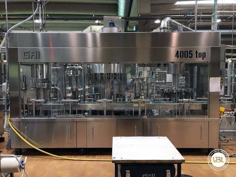 Used Complete Glass Line for Still Wine 4500 bph - 5