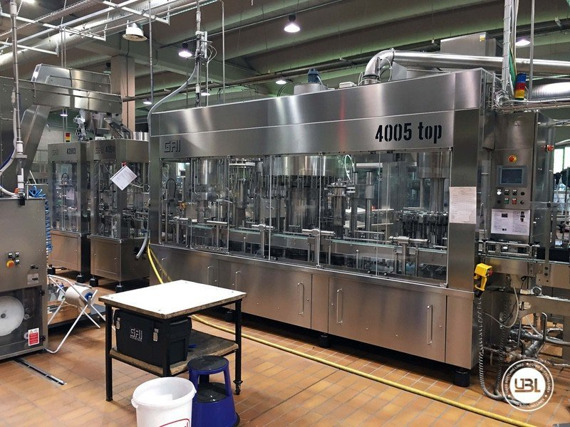 Used Complete Glass Line for Still Wine 4500 bph - 6