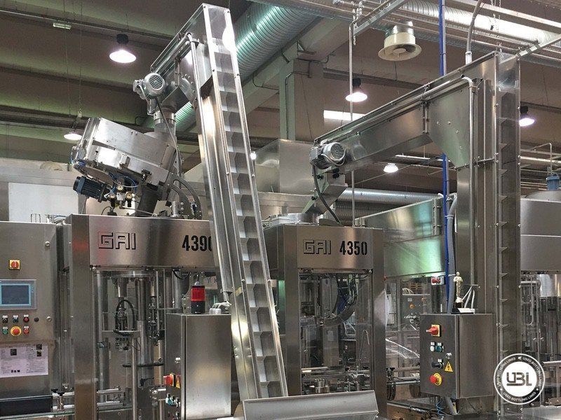 Used Complete Glass Line for Still Wine 4500 bph - 7