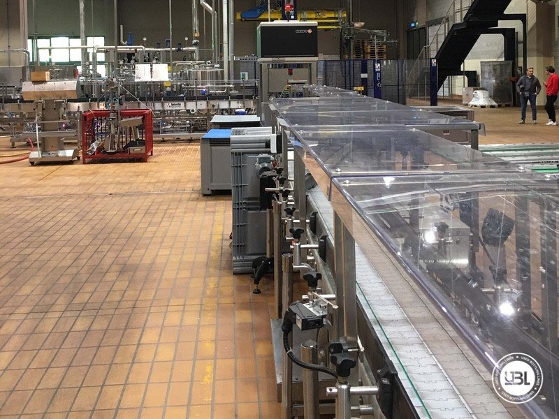 Used Complete Glass Line for Still Wine 4500 bph - 9