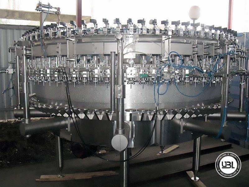 Used Isobaric Filling Machine Berchi ISOFILL 80 20000 bph - 1
