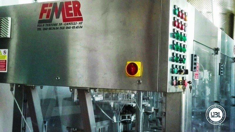 Used Filling Machine Fimer SDRTE 9.1.9.1 S 1200 bph year 2006 - 2