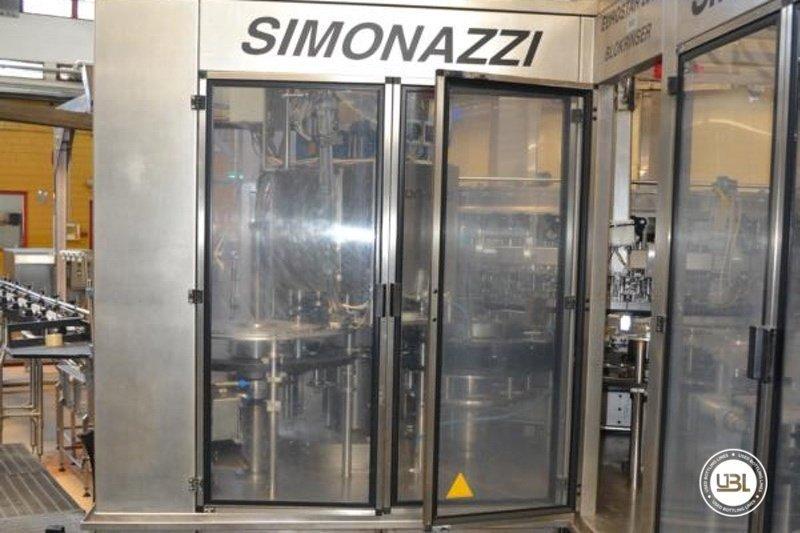 Used Isobaric Filling Monoblock Simonazzi Eurostar 2000 – 100 valves 32000 bph - 2