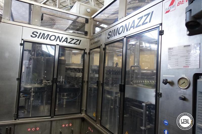 Used Isobaric Filling Monoblock Simonazzi Eurostar 2000 – 100 valves 32000 bph - 3