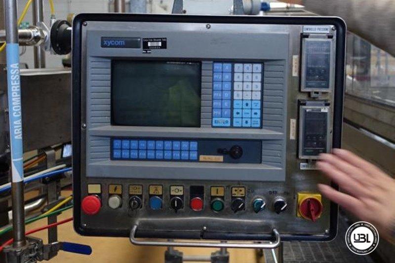 Used Isobaric Filling Monoblock Simonazzi Eurostar 2000 – 100 valves 32000 bph - 4