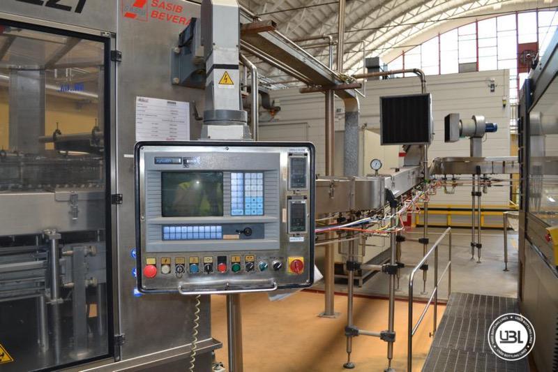 Used Isobaric Filling Monoblock Simonazzi Eurostar 2000 – 100 valves 32000 bph - 5