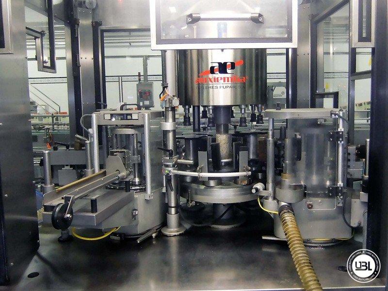 Used Bottle Labeler Auxiemba GACELA R-8-II-IZ 10000 bph year 2000 - 2