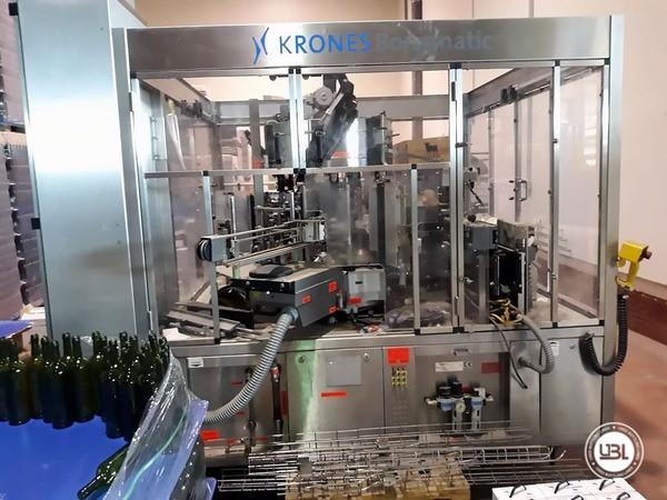 Used Bottle Labeler Krones Bonamatic 12000 bph year 2001 - 28