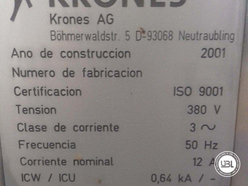 Used Bottle Labeler Krones Bonamatic 12000 bph year 2001 - 5