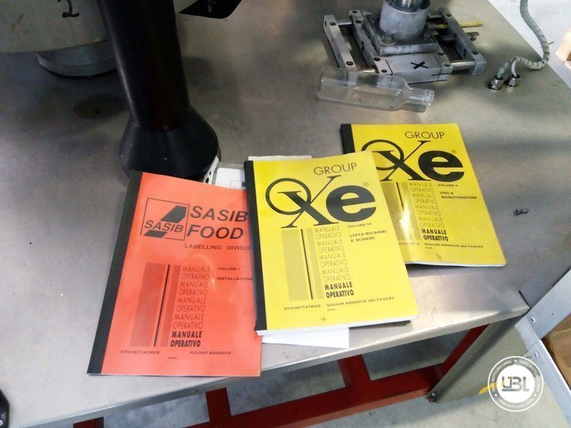 Used Bottle Labeler OXE Quasar Adhesive 480 4000 bph - 11