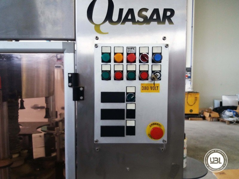 Used Bottle Labeler OXE Quasar Adhesive 480 4000 bph - 12
