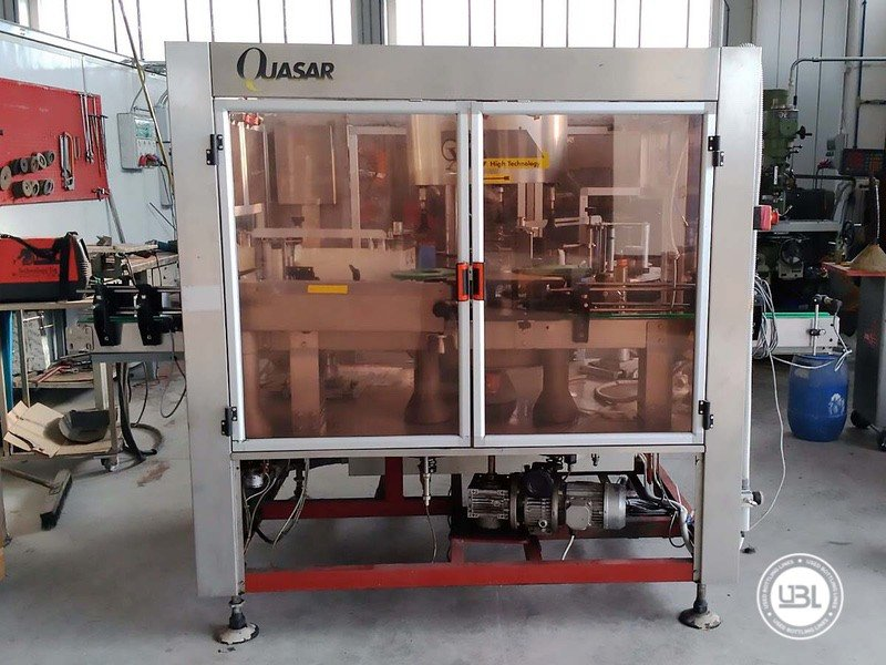 Used Bottle Labeler OXE Quasar Adhesive 480 4000 bph - 15
