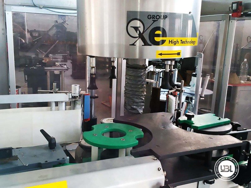 Used Bottle Labeler OXE Quasar Adhesive 480 4000 bph - 16
